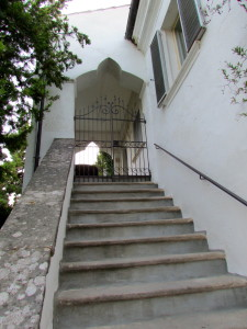 entrance and stairs